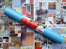 DC 200-1993 Gloss light Blue Contact Shelf Covering 45cm x 5m German Made