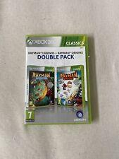 Xbox 360 Jeu Rayman Legends & Rayman Origins Pack Double