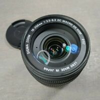 Sigma DC 18-250mm f/3.5-6.3 DC OS HSM Lens For Nikon - Needs Repair