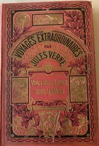 JULES VERNE Collection Hetzel / Hachette Vingt Mille Lieues sous les mers 1924