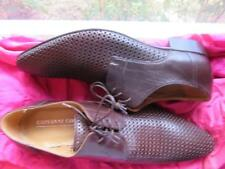 GIOVANNI CONTI MEN SHOES BROWN LEATHER LACE UP OXFORDS SIZE 11M/45!MADE IN ITALY