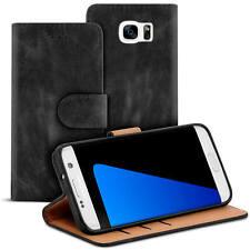 Tasche für Samsung Galaxy S7 Edge Hülle Case Bookstyle Handy Schutzhülle Cover