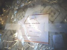 Pottery Barn Pearson Snowflake Winter twin  duvet + 1 standard sham New with tag