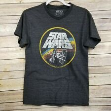 Star Wars Gray Size Small Short Sleeve TIE Fighter T-shirt Very Nice EUC
