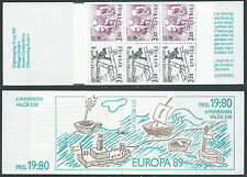 1989 EUROPA SVEZIA LIBRETTO MNH ** - VS