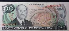 Costa Rica 100 Colones Uncirculated P-261a 1993 Serie H