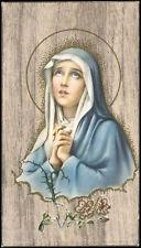 "santino-holy card""""ediz. NB serie OAK  n.18 MATER DOLOROSA"