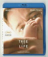 BLU-RAY DISC ★ THE TREE OF LIFE - BRAD PITT , SEAN PENN ★ DTS