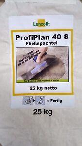 Ausgleichmasse - Fließspachtel - Nivelliermasse Selbstverlaufend bis 40 mm
