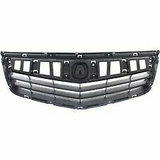 fits 2011-2014 ACURA TSX Back Panel Upper Grille on Front Bumper NEW