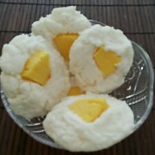 Pineapple Coconut Cookies Soy Wax Melts 5-6 oz. Dessert candles that looks Yummy