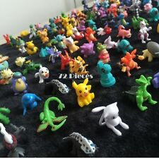 Pokemon Mini Action Figures 72 Pcs Set Pokemon Figure Toys Party Gift Play Set