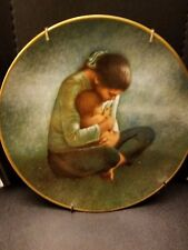 """Irene Spencer """" Yesterday, Today and Tomorrow"""" Plate Fairmont with hanger"""