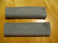 Set of 2 Soft & Secure CPAP Comfort Pads Keeps Mask Straps Away gray dark