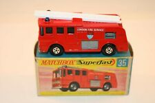 Matchbox 35 Superfast Merryweather Fire Engine in mint with excellent+ box