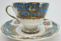 E Brain and Co. 1940's Montrose Cup & Saucer Foley Bone China