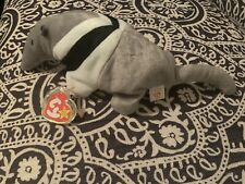 """Ty Beanie Babie- extremely rare """"Ants� Anteater Includes Custom HardTag Cover"""