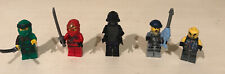 Lot of 5 LEGO NINJAGO Minifigures Kai, Lloyd, Lord Garmadon,2 Garmadon Minions.