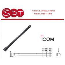 FA-SC61VC ANTENNE ICOM ORIGINAL VHF RÉGLABLE 136~174 MHZ POUR SERIE ICOM ET SIM