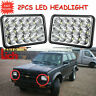 2X LED Headlights Bright Sealed Beam Bulbs For Chevrolet S10 G10 G30 K30 Impala