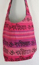 Boho Mantra Indian Sadhu Festival Shoulder Bag Handmade Hobo Beach Hippie Ethnic