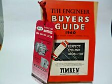 The Engineer  Buyers Guide  1960.