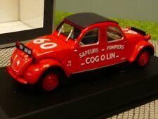 1/43 Norev Citroen 2CV Cogolin 1961 Pompiers 150091