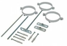 BNIB & Free P&P - Vaillant 100mm adjustable flue support clips x3 Item No 303935