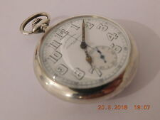 Analog Silver Pocket Watches with Chronograph