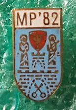 POLISH BOXING CHAMPIONSHIP POZNAŃ 1982 POLAND  OLD PIN BADGE