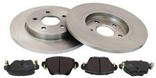 For Ford Mondeo Mk3 1.8 2.0 TDCI 2.5 German Quality Rear Brake Discs + Pads