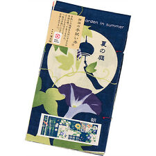Japanese traditional towel TENUGUI  SUMMER GARDENt COTTON MADE IN JAPAN