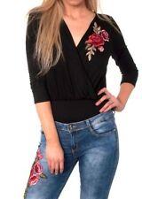 Maglie e camicie da donna floreali poliestere , Taglia 40