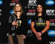 "F4 RONDA ROUSEY  /"" 12 MMA 6 UFC CHAMPION/"" 8 X 10 VERY NICE PHOTO AUTOGRAPH COPY"