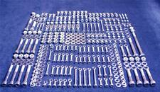 HONDA CR250 338 PIECE POLISHED STAINLESS STEEL BOLT KIT 1997-1999 CR 250