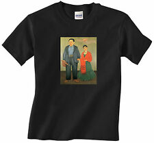 Frida Kahlo and Diego Rivera Portrait Art  - T-shirt for Men - Free Shipping!