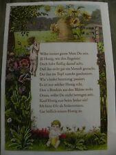 Imker-Spruch Imkerei, Imker,Bienen,Honig,Gedicht,Biene