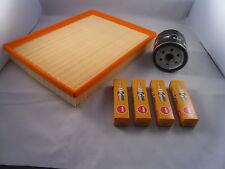 Vauxhall Zafira 1.6 Petrol Service Kit Oil + Air Filter Spark Plugs 02-05 OPT1