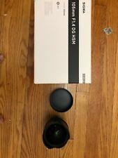 Sigma Art 14mm F/1.8 DG HSM Lens For Canon (Black)  - US