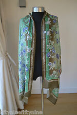 NEW AUTHENTIC VERSACE SCARF WITH CASHMERE MADE IN ITALY    Woman Gift