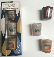 Yankee Candle Home Inspiration 3 Piece Votive Gift Set Collection 3 x 49 gram