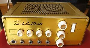Röhrenverstärker Echolette Klemt M40, Mischverstärker, tube amplifier, Top!
