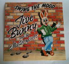 "Jive Bunny & The Mastermixers -SWING THE MOOD 12"" MFDT001 A1/B1 1980s Pop"