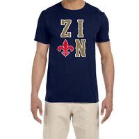 New Orleans Pelicans Zion Williamson Text Logo T-Shirt