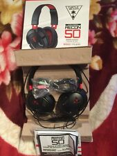 Turtle Beach Recon 50 Headband Headsets - Black/Red xbox / playstation / pc