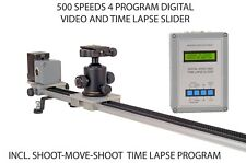 100 cm Sony/Minolta digital video / time lapse slider shoot-move-shoot timelapse