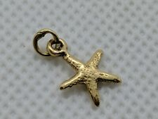 RARE RETIRED James Avery 14k Yellow Gold Starfish Charm FREE SHIPPING