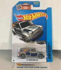 '67 Austin Mini Van #27 * ZAMAC * 2015 Hot Wheels * WG11