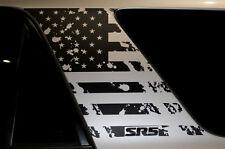 Vinyl Graphics Decal Wrap Kit for Toyota 4Runner 2010-17 PILLAR FLAG Matte Black