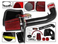 RTunes V2 Heat Shield Air Intake Kit +Filter For 2009-2013 Silverado Sierra V8